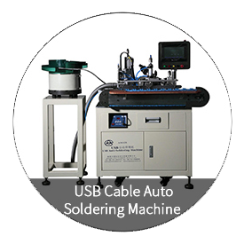 USB-kabel automatische soldeermachine
