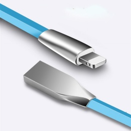 wholesale durable unique interface 1.2m zinc alloy  Lighting cable