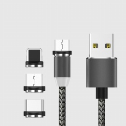 wholesale power magnetic data line 3-in-1 cable