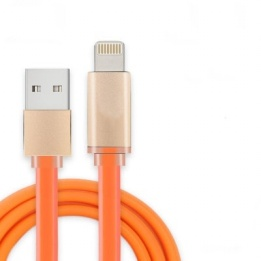 wholesale colorful jelly fast charging  lightning cable