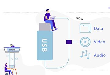 Venta al por mayor Ventaja del cable USB 3 en 1
